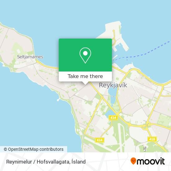 Reynimelur / Hofsvallagata map
