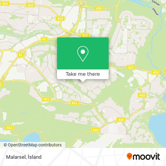 Malarsel map