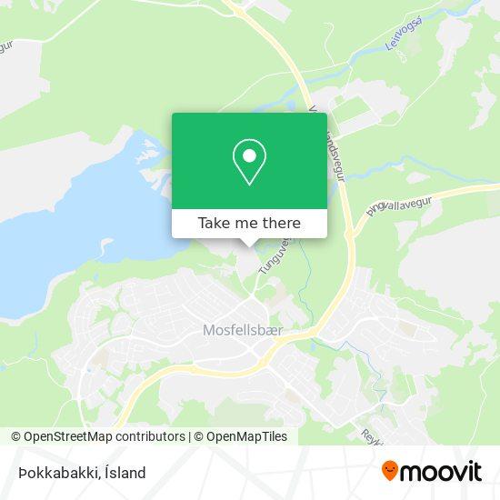 Þokkabakki map