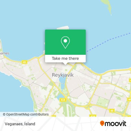 Veganaes map
