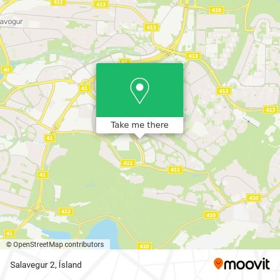 Salavegur 2 map