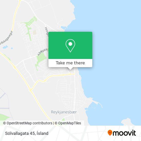 Sólvallagata 45 map