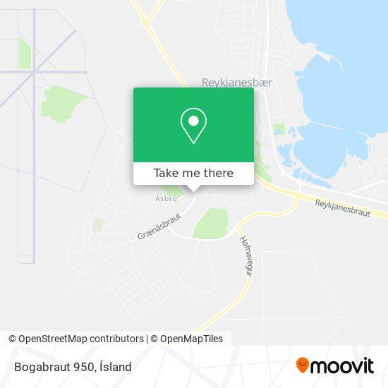 Bogabraut 950 map