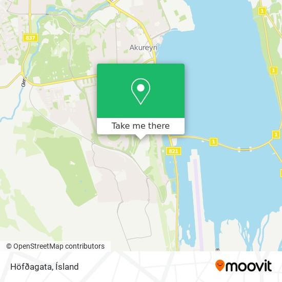 Höfðagata map