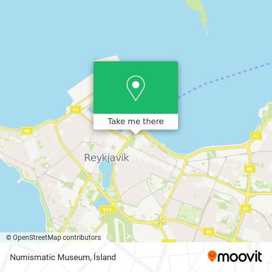 Numismatic Museum map