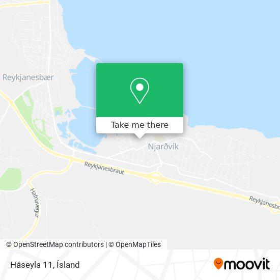 Háseyla 11 map