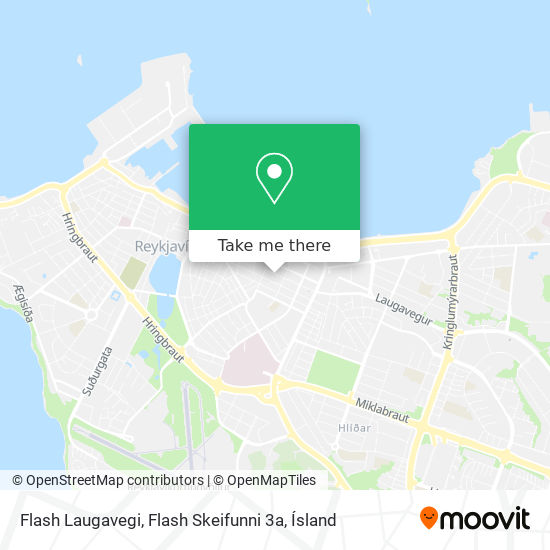 Flash Laugavegi, Flash Skeifunni 3a map