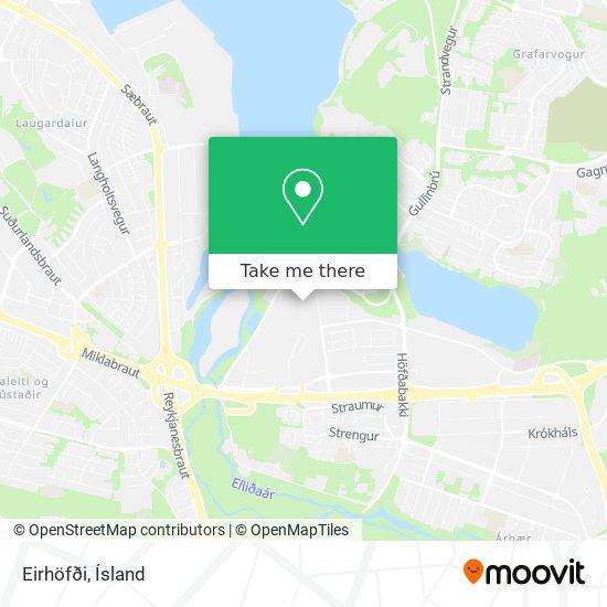 Eirhöfði map