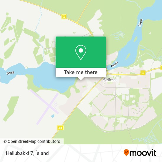 Hellubakki 7 map