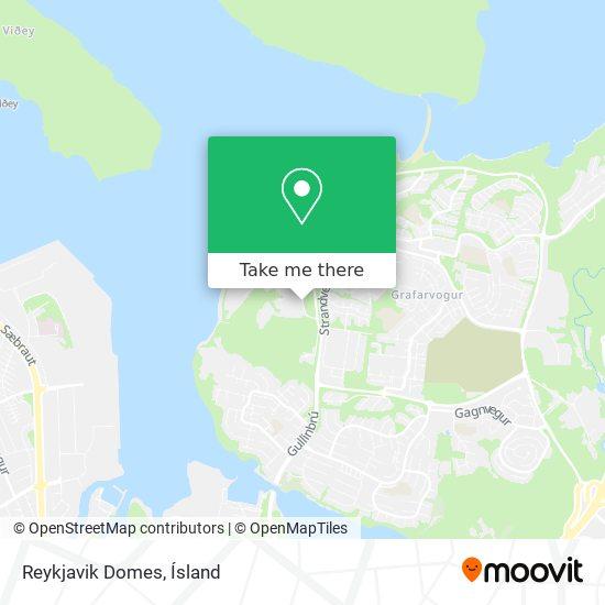 Reykjavik Domes map
