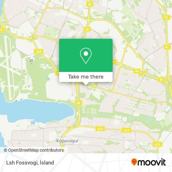 Lsh Fossvogi map