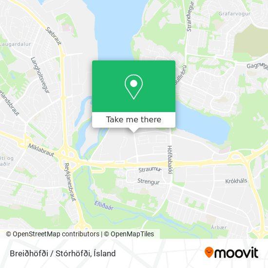 Breiðhöfði / Stórhöfði map