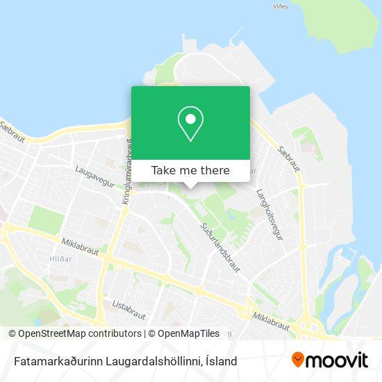Fatamarkaðurinn Laugardalshöllinni map