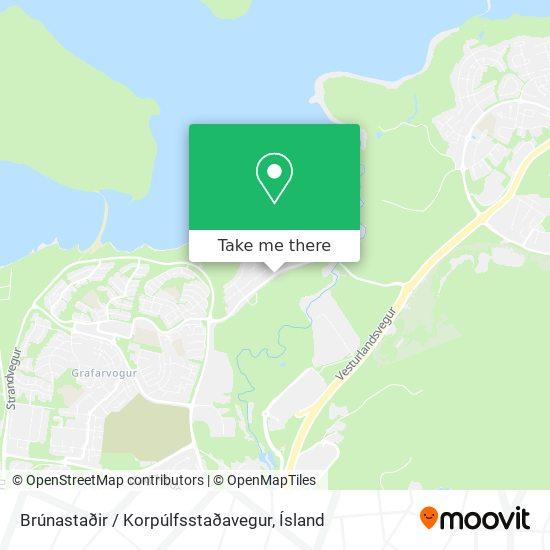 Brúnastaðir / Korpúlfsstaðavegur map