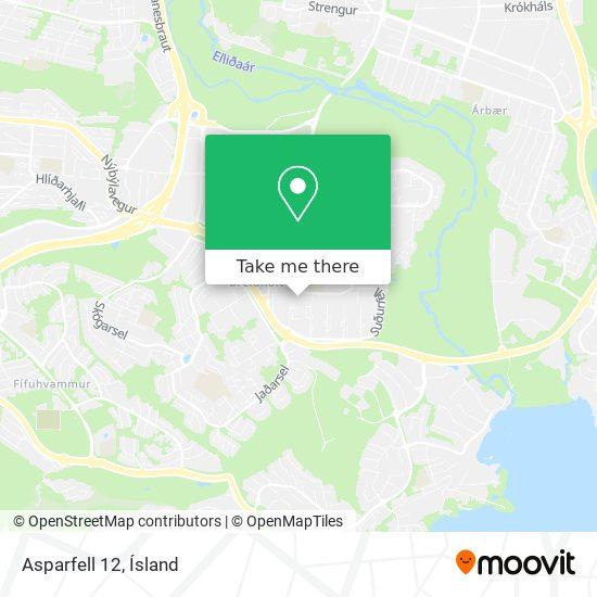 Asparfell 12 map
