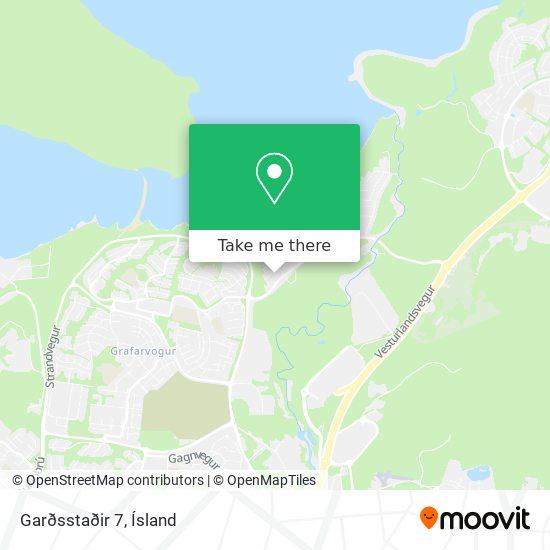 Garðsstaðir 7 map