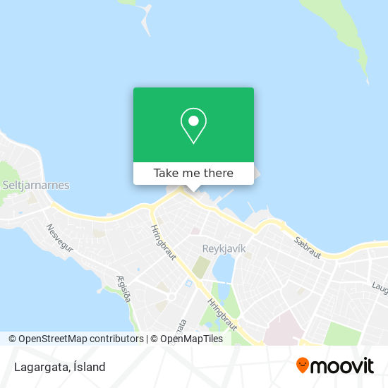 Lagargata map