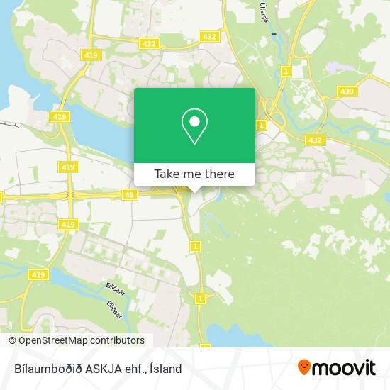 Bílaumboðið ASKJA ehf. map