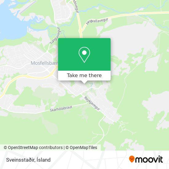 Sveinsstaðir map