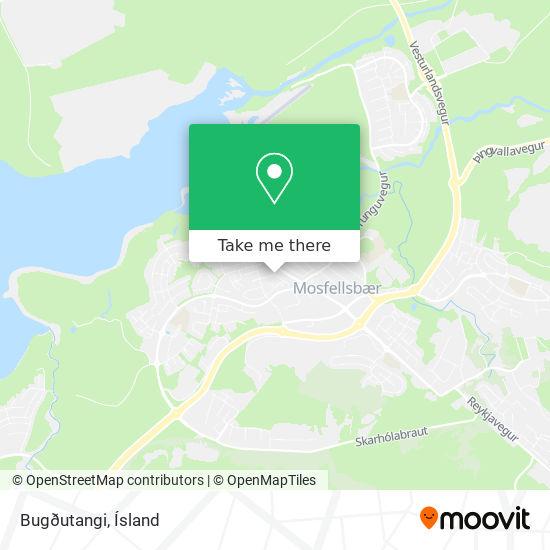 Bugðutangi map