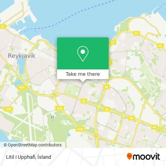 Lítil í Upphafi map