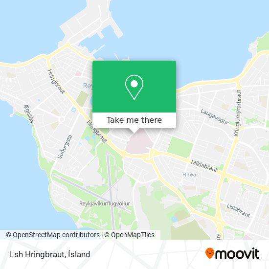 Lsh Hringbraut map