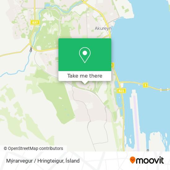 Mýrarvegur / Hringteigur map