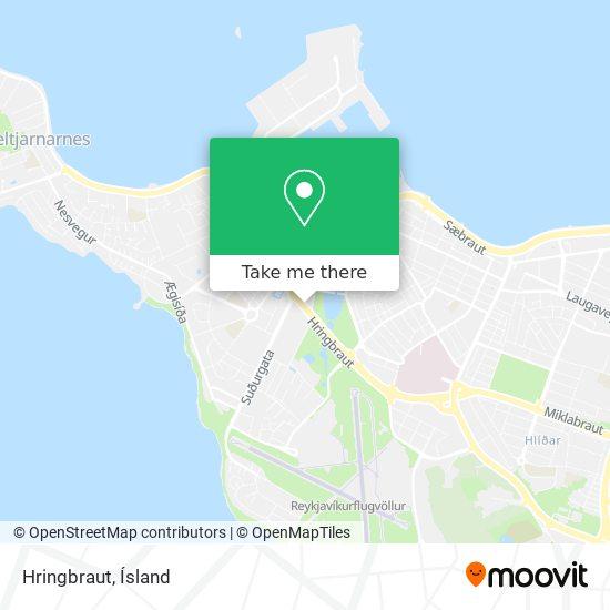 Hringbraut map