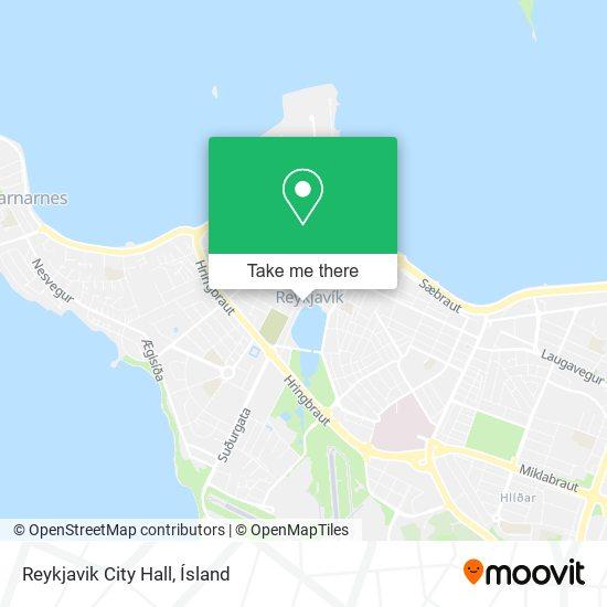 Reykjavik City Hall map