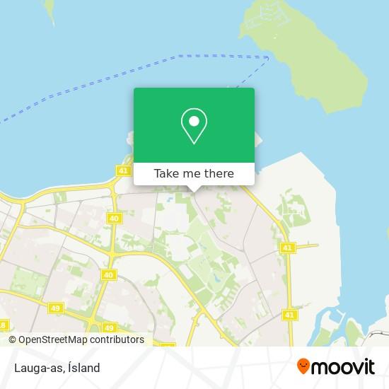 Lauga-as map