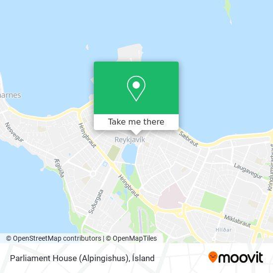 Parliament House (Alpingishus) map