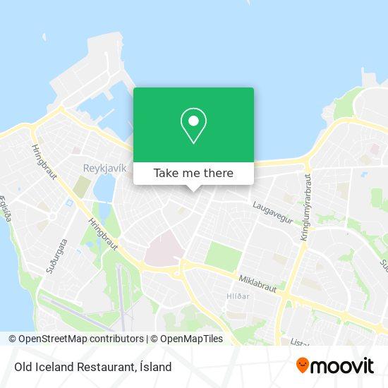 Old Iceland Restaurant map