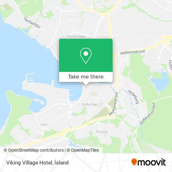 Viking Village Hotel map