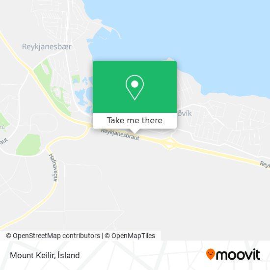 Mount Keilir map