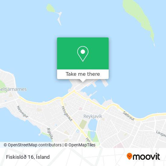 Fiskislóð 16 map