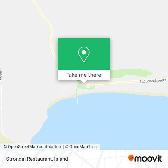 Strondin Restaurant map