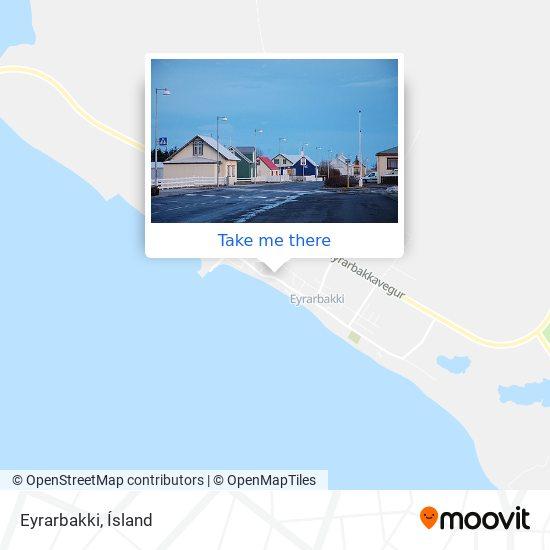 Eyrarbakki map