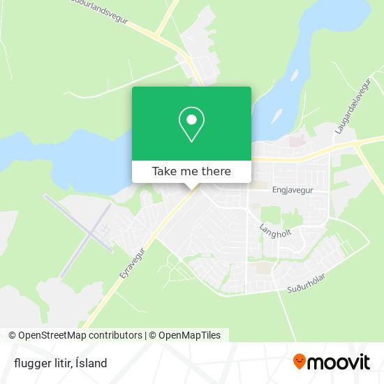 flugger litir map