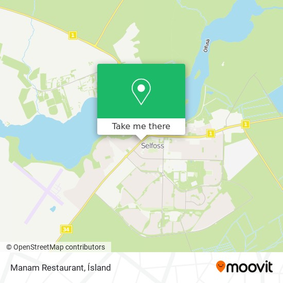Manam Restaurant map