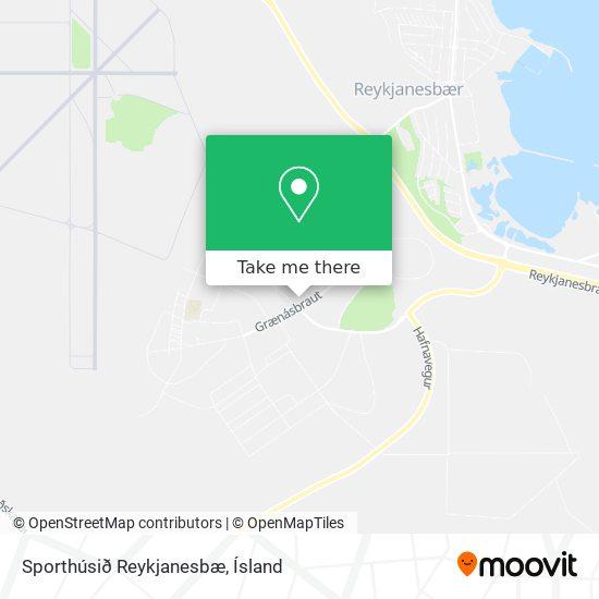 Sporthúsið Reykjanesbæ map