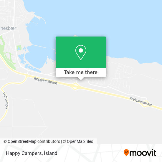 Happy Campers map