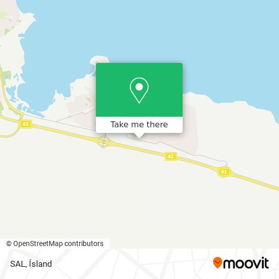 SAL map