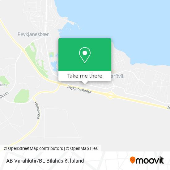 AB Varahlutir/BL Bílahúsið map