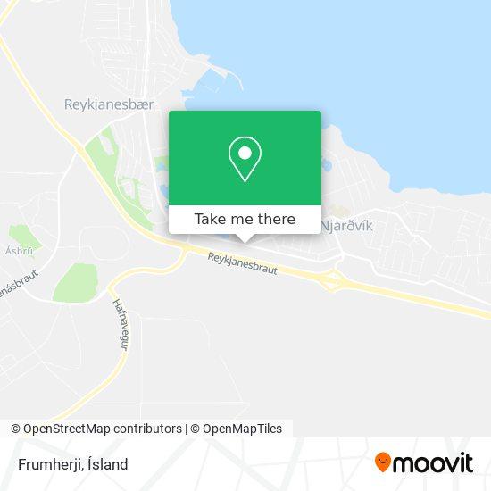 Frumherji map