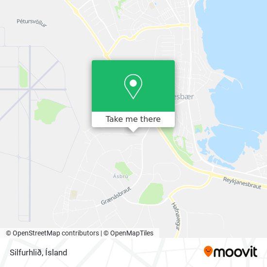 Silfurhlið map