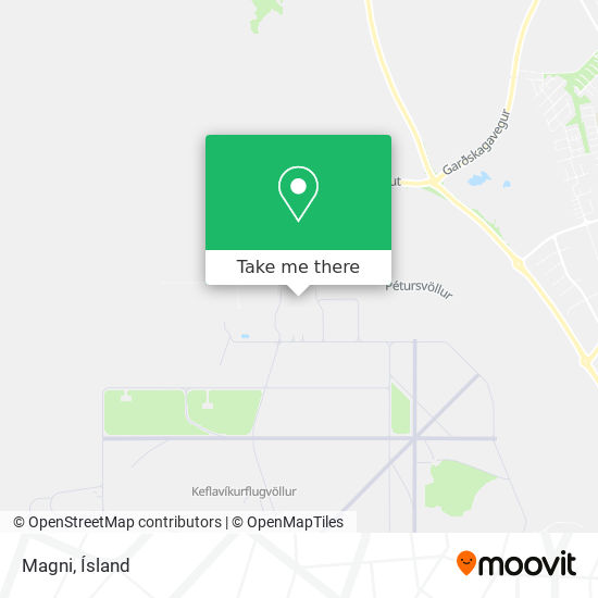 Magni map