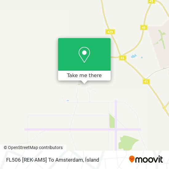 FL506 [REK-AMS] To Amsterdam map