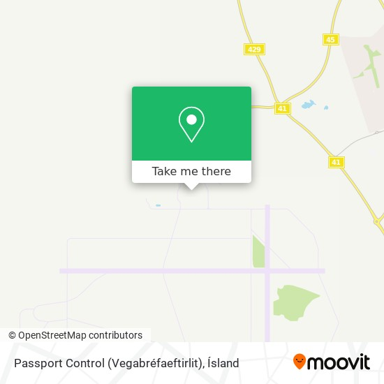 Passport Control (Vegabréfaeftirlit) map