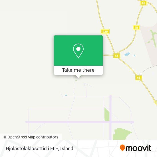 Hjolastolaklosettid i FLE map