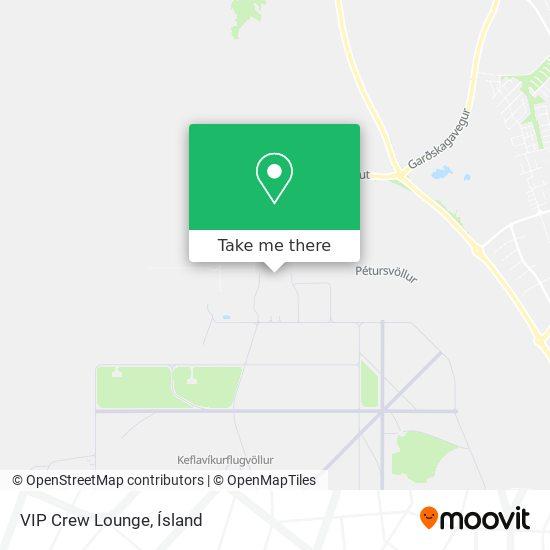 VIP Crew Lounge map